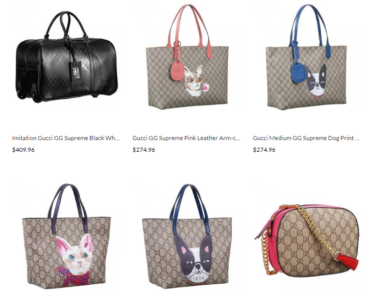 designer gucci gg supreme replica handbags sale