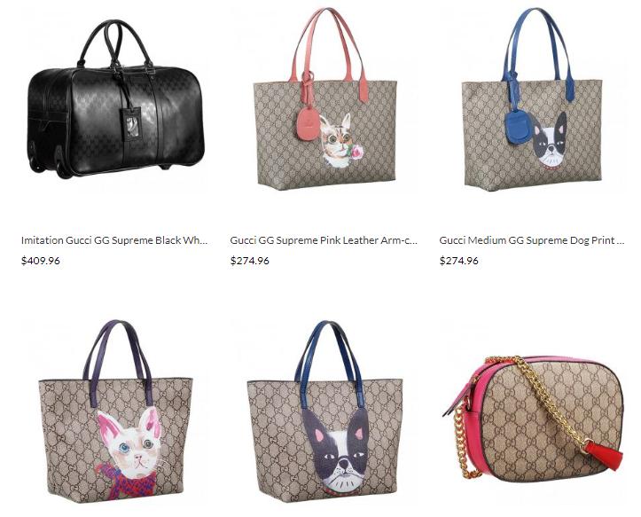 designer gucci gg supreme replica handbags sale