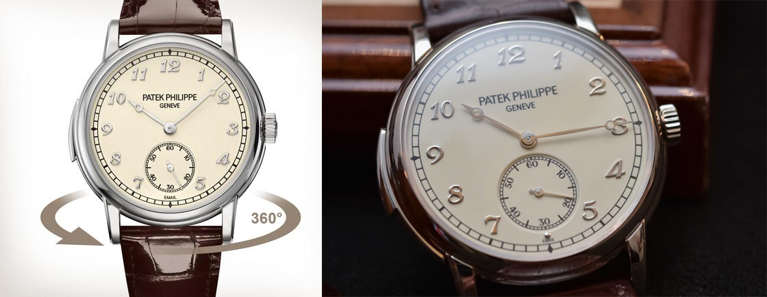 Patek Philippe with Breguet hands